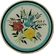 """SOLD Stangl Pottery Country Garden 10"""" Dinner Plate"""