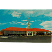 Howard Johnson's Bi-Fold Tichnor Brother's Post Card