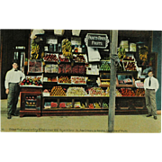 SOLD New Orleans Canal Street Pareti Brothers Fruit Stand Phostint