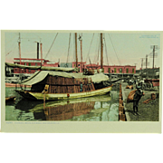 SOLD Charcoal Boats Old Basin New Orleans Phostint