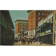 SOLD St. Charles Hotel New Orleans Rotograph Post Card