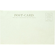 Bennett Avenue Undivided Back Post Card