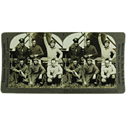 Stereoview of American Pilots Who Made Aviation History