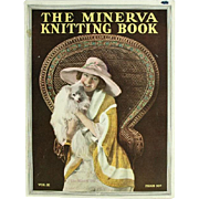The Minerva Knitting Book Vol. III Copyright 1919 Original