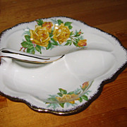SOLD Royal Albert - Tea Rose - Leaf Dish