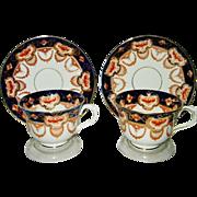 Royal Albert - Smooth Heirloom - Teacup Sets (2)