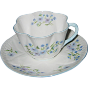 Shelley - Blue Rock - Teacup Set