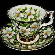 SOLD Royal Albert - Dogwood - Teacup Set