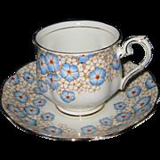 Royal Albert - Blue Posies - Teacup Set