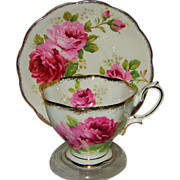 SOLD Royal Albert - American Beauty - Fancy Teacup Set