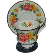 REDUCED Paragon - Fancy Footed Teacup Set