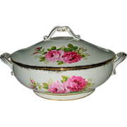 SOLD Royal Albert - American Beauty - Covered Server