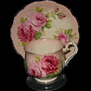 SOLD Royal Albert - Pink Roses on Pink - Teacup Set