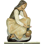 Lladro Gres - Classic Water Carrier 0103525 - Large Figurine