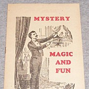 Vintage Mystery Magic & Fun Catalog