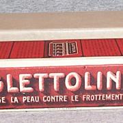 Vintage Glattolin Collar Wax Full Display Box