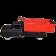 Marx Pressed Steel Hydraulic Dump Truck