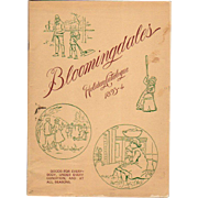 SOLD 1893-94 Bloomingdales Holiday Catalog Toys