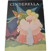 1931 Cinderella Children's Book Fern Bisel Peat