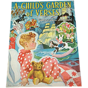 1939 A Child's Garden Of Verses Book