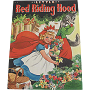 1939 Little Red Riding Hood Children's Book