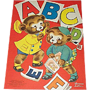 1941 ABC Children's Book