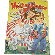 1942 Mother Goose Children's Book