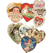 Collection Vintage Heart Valentines