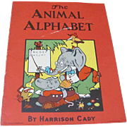 SOLD 1921 The Animal Alphabet Book by Harrison Cady