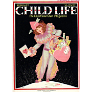 Child Life Valentine Cover Feb 1925