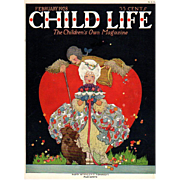 Child Life Valentine Cover Feb 1928