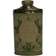 1906 Colgate's Violet Talc Powder Tin