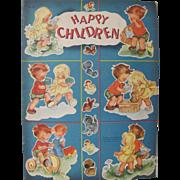 1949 Happy Children Book