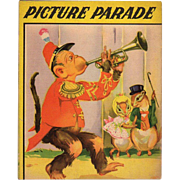 1942 Picture Parade Children's Book