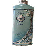Reuter Talco Rosas Talc Tin