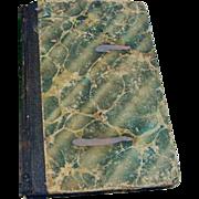 Antique Book 1838 Primitive Anecdotes Famous Short Stories on Character Moral Teachers Christi
