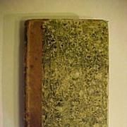 SALE RARE 1829 Antique French Manual De L'Histoire Naturelle Des Mollusques Seashell Shells