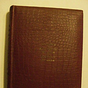 SALE Rare 1899 Presentation Copy Murat Halstead Admiral Dewey Spanish American War Book