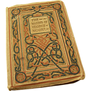 Small book - The Maxims of George Moore -  1927