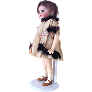 REDUCED Flapper Doll Simon Halbig Bisque Head 8 Inch Sweetheart