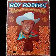 SOLD Book Roy Rogers Favorite Western Stories in Original Box Whitman Vintage 1956