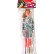 Barbara Ann Fashion Doll In Original Packaging Made In Hong Kong