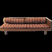 Mattel Modern Furniture Convertible Sofa Daybed Wood Doll Furniture Vintage 1958