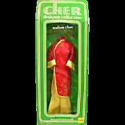 SALE Cher Doll Clothes, Madame Chan Fashion, Red Coat, Mego, Bob Mackie Doll Fashion Vintage .