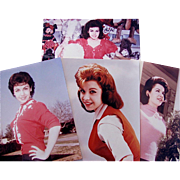 Annette Funicello Publicity Photos, 4 Different Poses, Full Color, 8 x 10 Glossy Photographs,