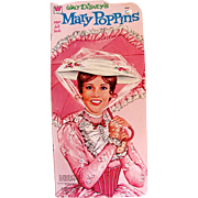 SOLD Mary Poppins Paper Doll Book Uncut Whitman Vintage 1973
