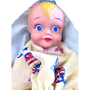 SOLD Joan Palooka Baby Doll in Original Box with Birth Certificate Vintage 1952 - Red Tag Sale