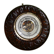 REDUCED Antique British Barometer, Victorian - Botley & Lewis