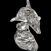 REDUCED Swarovski Crystal Dolphin