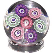 REDUCED Beautiful Baccarat Dupont Paperweight - c. 1920